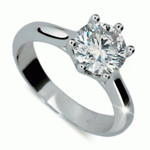 1e37b7127 Briliantový prsteň Danfil DF1885 DANFIL - ELBEZA.sk