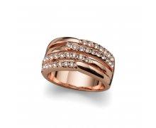 Prsteň s krištáľmi Swarovski Oliver Weber Unify 41113 888adb3aa3b