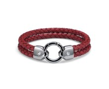 725d9e100 Náramok s krištáľmi Swarovski Oliver Weber Braid Red