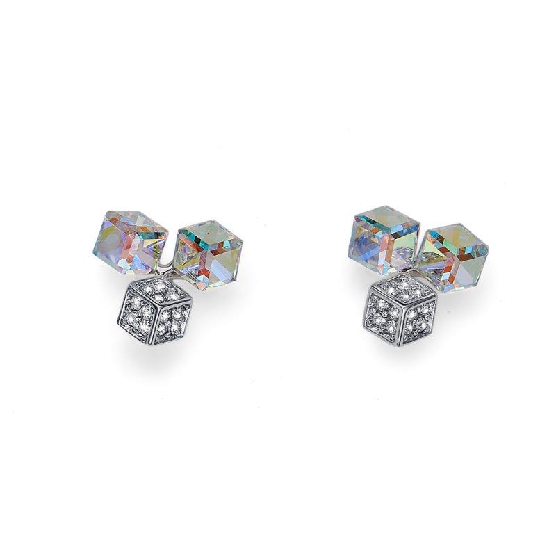 93c050ea4 Náušnice s krištáľmi Swarovski Oliver Weber Quad AB Crystal 22629 AB ...