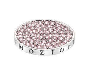 Prívesok Hot Diamonds Emozioni Scintilla Pink Compassion Coin