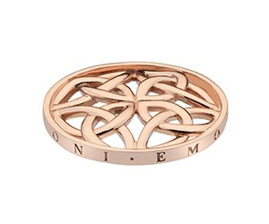 Prívesok Hot Diamonds Emozioni Celtic Cross Rose Gold Coin