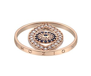 Prívesok Hot Diamonds Emozioni Eye Sparkle Rose Gold Coin