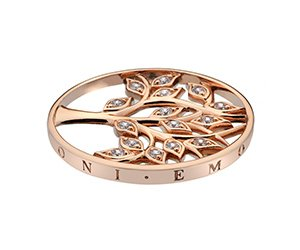 Prívesok Hot Diamonds Emozioni Tree Of Life Rose Gold Coin