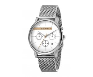 Hodinky ESPRIT Vision Silver Mesh